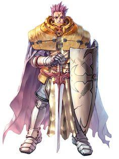 Crusader Male from Ragnarok Online