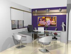 decoração escritório design - Pesquisa Google