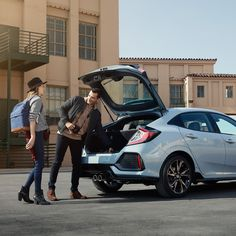 Exploring all the features of the new Civic Hatchback is only the beginning of the adventure