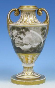 Coalport antique porcelain vase   The History of Coalport Porcelain Works   Coalport Marks