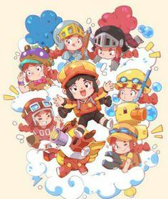 Cute Doodle Art, Cute Doodles, Star Wallpaper, Kids Wallpaper, Star Character, Character Design, Sonic Heroes, Chibi Characters, Red Dragon