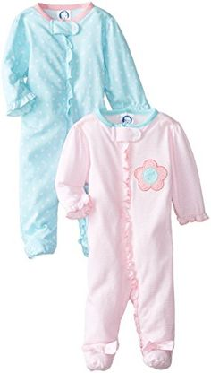 Gerber Baby-Girls Newborn 2 Pack Sleep N Play Zip Front, Flowers, New Born Gerber http://smile.amazon.com/dp/B00KF3C7E4/ref=cm_sw_r_pi_dp_KmKOub1CJX675