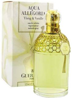 Aqua Allegoria Ylang & Vanille by Guerlain is a sweet, warm, spicy, yellow and white Floral fragrance with carnation, ylang-ylang in the top. Jasmine in the middle and vanilla in the base. - Fragrantica