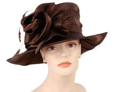 69b8a343d9e Women s formal dressy church and derby hats