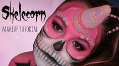 Skelecorn Halloween Tutorial Halloween Tutorial, Halloween Face Makeup, Channel, Friends, Videos, Check, Youtube, Amigos, Boyfriends