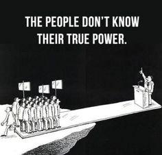 ...die Macht des Volkes!