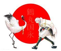 """nihili84: """"鶴丸最近綺麗〜よりかっこいい〜って気持ちになってきた """""""