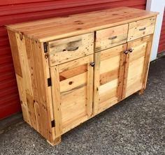Wood Pallet Sideboard | 99 Pallets