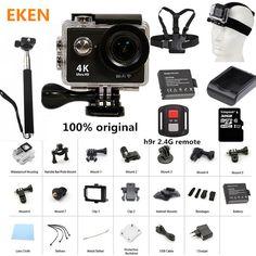 """Đến New! Action Máy Ảnh 100% Original Eken H9/H9R Ultra HD 4 K 30 M sport 2.0 """"Màn Hình 1080 p FHD đi không thấm nước pro máy ảnh"""