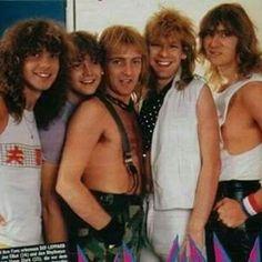 Classic Def Leppard #defleppard #rock #1980s #hysteria #pyromania