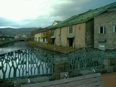 2004年 新婚旅行より 小樽運河
