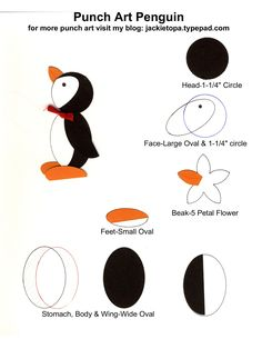 penguin made from owl punch - Google Search