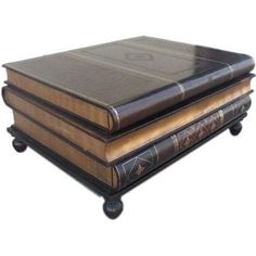 Maitland Smith Stacked Books Coffee Table | Design Plus Gallery