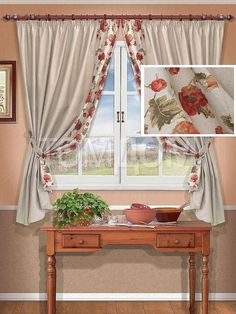 Комплект штор для кухни Вернел