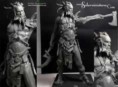 ArtStation - Vikings - plasticine sketches, Scibor Teleszynski