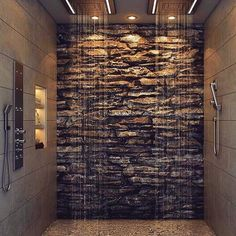 Shower goals 😍🔥TAG someone who is crazy enough to build this into their home😉 #interior123pusseropp 📧 post@interior123.com