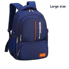 2018 New Backpacks Children School Bags For Boys Girls Large Capacity School  Backpack Waterproof Satchel Kids Book Bag mochila da2ab315a2375