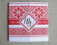 Transilvania traditional wedding invitation - Invitatie pentru o nunta traditionala romaneasca - Colectia Mara