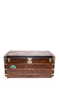Vintage Louis Vuitton Courrier c1920 Trunk on HauteLook