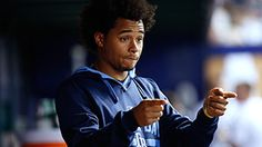 Chris Archer was voted the 2015 Esurance  MLB Award Best Social Media Personality. (11-20-15)