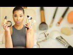 ▶ MAKEUP STARTER KIT (Part 2) | BRUSHES, BRUSHES, BRUSHES! | MAKEUP - YouTube