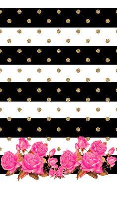 Polka dots & pink