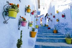 📍 Chefchaouen Ancient Medina - 📸 Christine Wehrmeier | Discovered via Mustsee - http://mustsee.earth