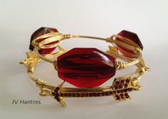 FSU Wire Wrap Bangle Stack/Set Qty 2 or 3 by JVHANTRES on Etsy