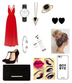 """""""Formal wear"""" by hallie-bray on Polyvore featuring Elie Saab, Christian Louboutin, Blue Nile, Forever 21, Chicnova Fashion, Dune, Daniel Wellington, Dollydagger and Bling Jewelry"""