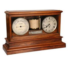 A Victorian walnut cased weather station, signed T.B. Winter, Newcastle on Tyne, with a central barograph above a thermometer, flanked by a timepiece and barometer. (With pendulum and winder) 44.5cm by 70.5cm by 22cm. Lot number 467, Thomas Watson Fine Sale, 24.02.2015. Estimate: £1000-£1500. Bid online at http://www.the-saleroom.com/en-gb/auction-catalogues/thomas-watson.