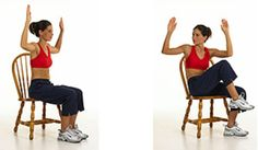 seated crossover ab exercise