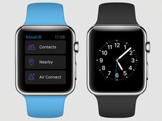 Air Connection Process with Apple Watch by Indee Mobile
