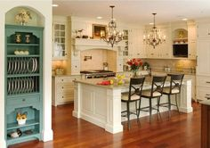 7 Glorious Clever Tips: Kitchen Remodel Melamine Cabinets small kitchen remodel u-shape.Kitchen Remodel Modern Concrete Counter small kitchen remodel before and after.Kitchen Remodel On A Budget Brown. Home Kitchens, Kitchen Remodel, Kitchen Island With Seating, Sweet Home, Kitchen Decor, Kitchen Island Design, Kitchen Interior, Interior Design Kitchen, Dream Kitchen