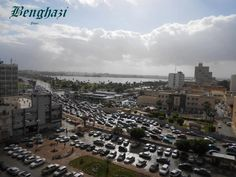 Suddenly Benghazi got too many cars, and not enough streets.  Go to the right, ends by the sea. :)