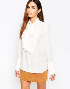 Warehouse Pussybow Blouse