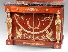 How well do you know your decorative furniture elements? Take a look at five, including the caryatid and gallooning, that you may recognize but probably not by name.