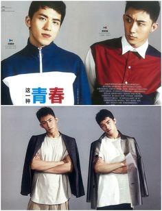 XU WEIZHOU & HUANG JINGYU // ELLE MEN China