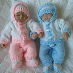 "Knitting Pattern 10"" Doll, Premature Baby Available as a PDF instant download…"