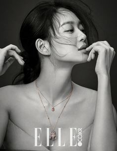 Elle Korea Featuring Shin Min Ah's New Stonehenge Pictorial | Couch Kimchi