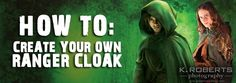 Ranger's Apprentice How To: DIY Cloak and outfit