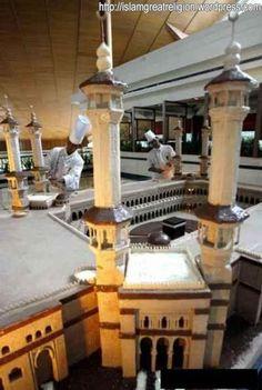 WOW! Edible Art, Cake! | Masjid Al-Haram as CAKE 2