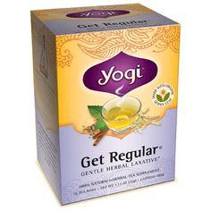 Yogi Tea Get Regular  Yes it works and it's gentle  and taste great.