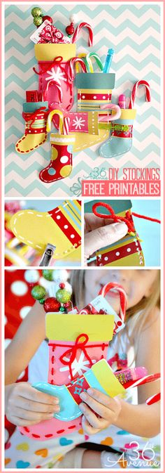 The 36th Avenue - DIY-Stocking-Free-Printable