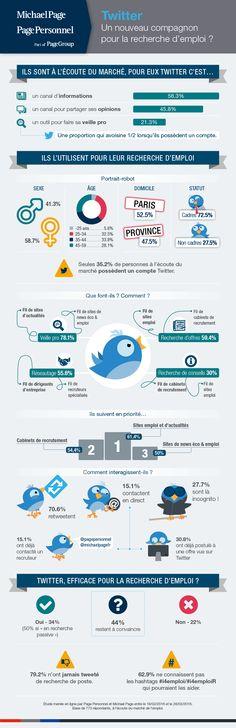 infographie 294 - Twitter emploi