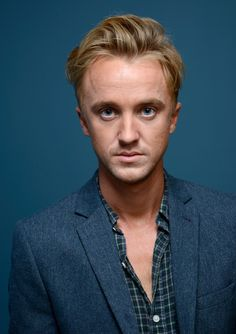 "Tom Felton Photos Photos - Actor Tom Felton of 'Therese' poses at the Guess Portrait Studio during 2013 Toronto International Film Festival on September 7, 2013 in Toronto, Canada. - ""Therese"" Portraits - 2013 Toronto International Film Festival"