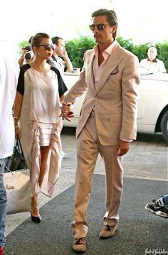 Kourtney Kardashian & Scott Disick. Could this couple be anymore amaze balls? Style icons