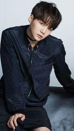 Suga | Min Yoongi ~ um...do they have him wearing fishnet stockings?!