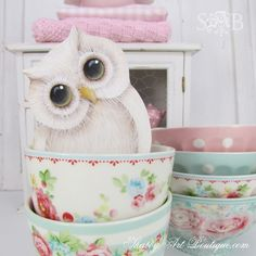 It's the little things… like GreenGate and Owls - Shabby Art Boutique