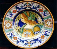 Ceramiche d\'Arte Vecchia Deruta - Piatti da Gran Pompa dipinti a ...
