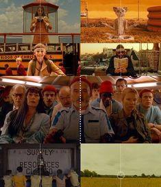 Wes Anderson // Centered: A Supercut of Symmetrical Shots in Wes Anderson Films